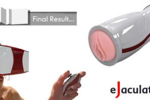 eJaculator:男の夢を叶える電動テ○ガ—INDIEGOGO
