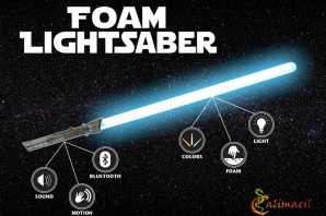 Calimacil Foam Lightsaber:安全なライトセイバーが出来ました—kickstarter