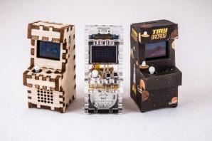 Tiny Arcade:かわいい、ちっちゃいゲームセンターつくれちゃう!—kickstarter