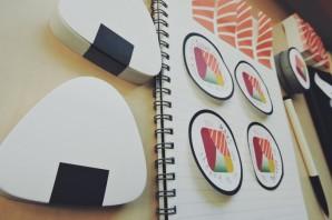 SUSHI NOTES:お寿司の付箋が大人気?—kickstarter