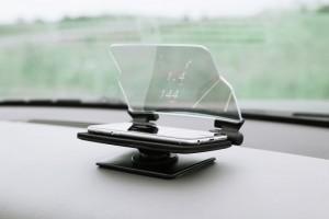 HUDWAY Glass:近未来来た!カーナビ革命---kickstarter