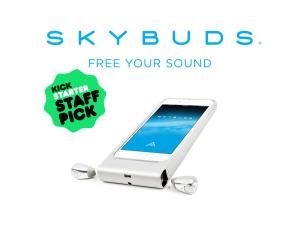 Skybuds:これぞ最終形。コードのないイヤフォン!---kickstarter