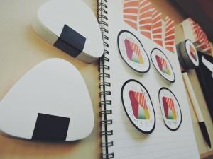 SUSHI NOTES:お寿司の付箋が大人気?---kickstarter